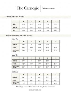 The Carnegie PDF Sewing Pattern