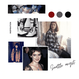 Seattle Angst mood board